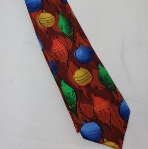 J. Garcia Accessories - J. Garcia Christmas Holiday Tie 100% Silk